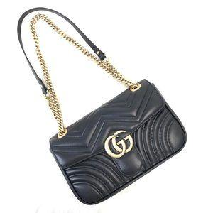 Gucci Marmont %100 genuine leather